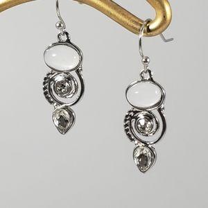 Moonstone Earings